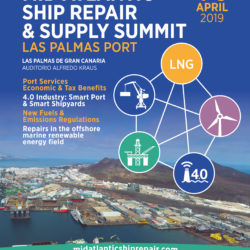 Invitación próximo Congreso Mid Atlantic Ship Repair& Supply Summit. 4 y 5 Abril 2019